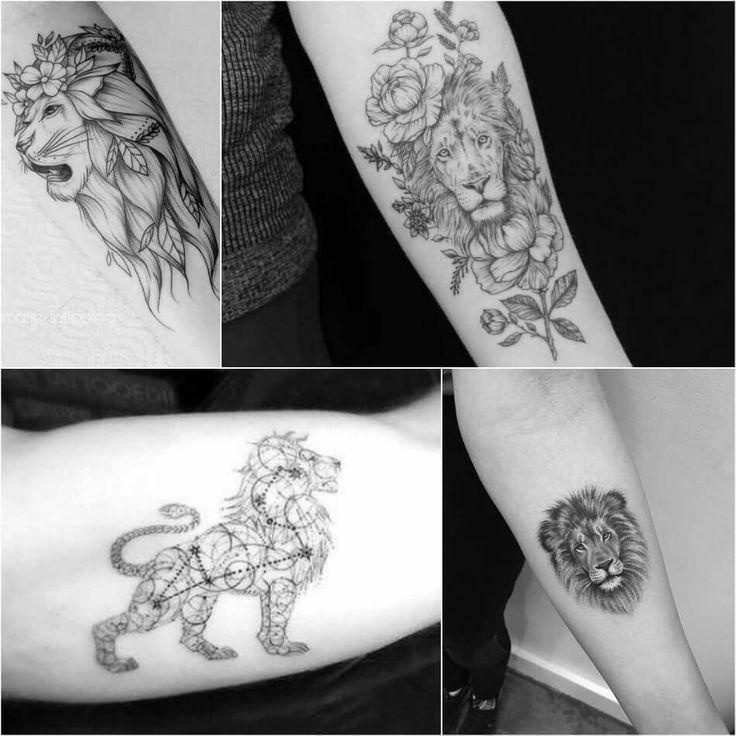 Lion Tattoo Meaning – Lion Tattoo-Ideen für Männer und Frauen mit Fotos