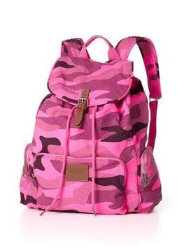PINK By Victoria's Secret Camo Print Backpack $130