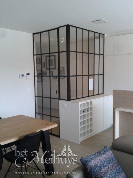 Stalen taatsdeur met zijlichten/scheidingswand, Project Geel