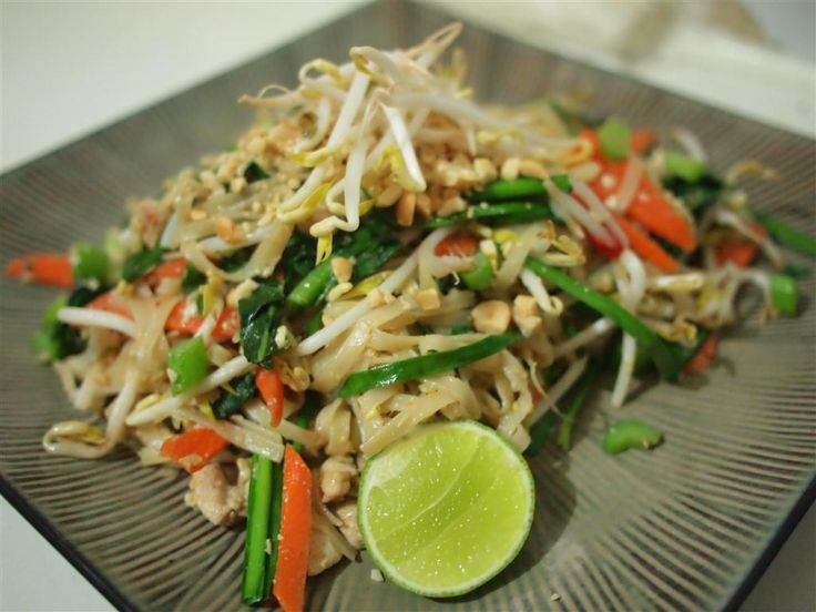 The most common two food dishes from Thailand available at nearly every Thai food restaurant are Pad Thai and Tom Yum Goong.