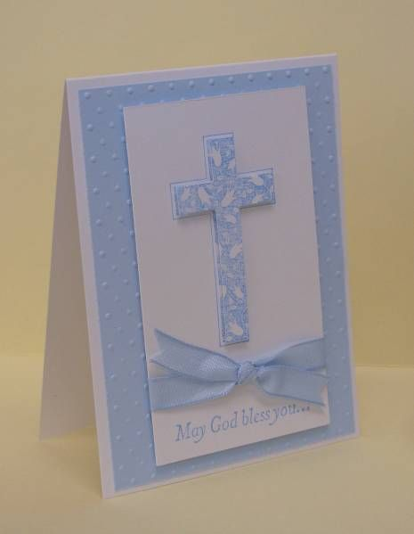 First Communion - Ryan by moster - Cards and Paper Crafts at Splitcoaststampers
