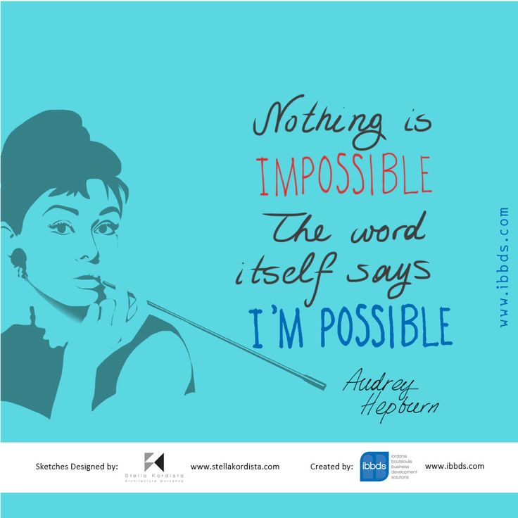 #Inspirational #Quotes, #Audrey #Hepburn, #by #ibbds