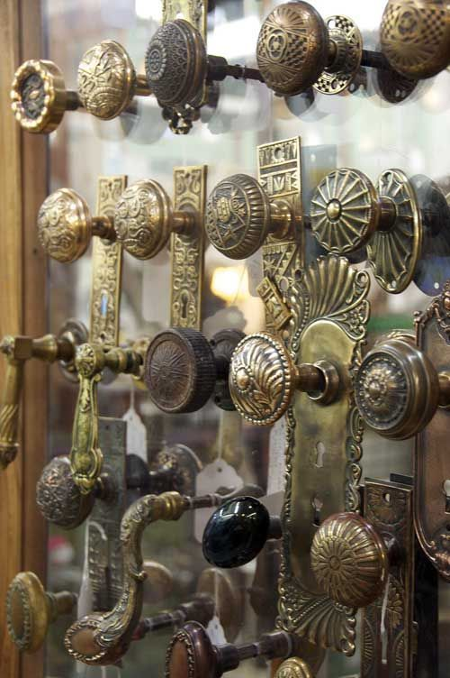 Clearly I love antique doors and door details. I love door knobs, have a bunch on an old door I use for a head board