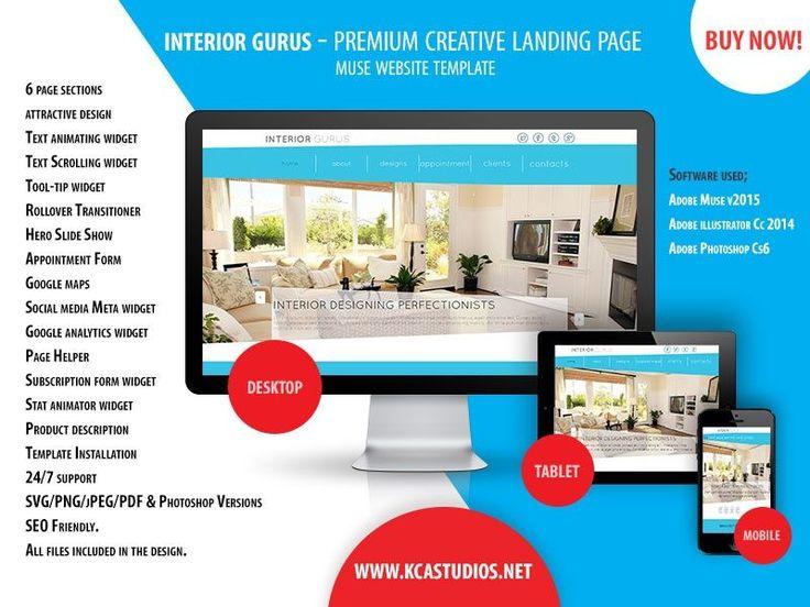Die besten 25+ Muse website Ideen auf Pinterest | Web Designer ...