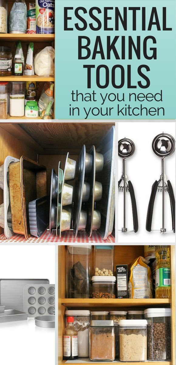 These are the BEST Essential Baking Tools that you can buy to help make your baking life that much easier! This post has lots of tips and tricks to help your baking.