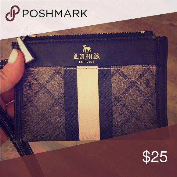 LAMB Wristlet/wallet black and white LAMB Wristlet/wallet black and white lamb Bags Cosmetic Bags & Cases