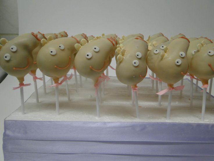 Cakes  pop Peppa Pig