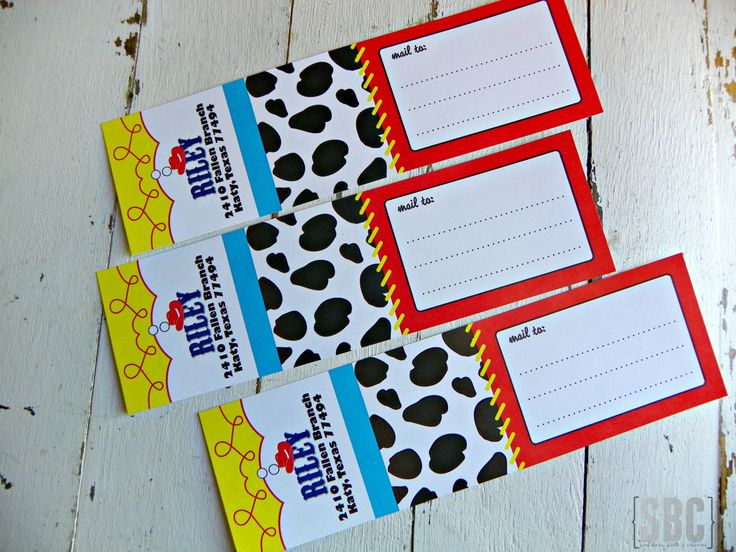 Permítenos ayudarte con tu próxima fiesta occidental!  No te olvides de pasar por mi sitio web: www.southernbellescharm.com  Este listado está para (12) Jessie la vaquera dirección envuelve - redacción personalizada. Contacto compra de vendedor antes. Más etiquetas en su orden, por favor vendedor convo. Colores de encargo disponibles a petición para la cuota adicional de volver a colorear. Etiquetas adicionales se venderán más de 12 en $1,00.  Toy Story®, JESSIE®, JESSIE THE COWGIRL® son…