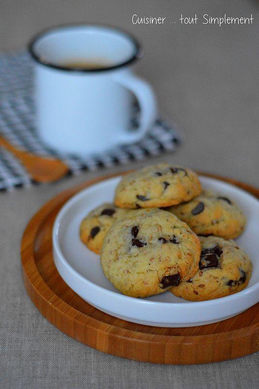 Cookies Sésame - Chocolat