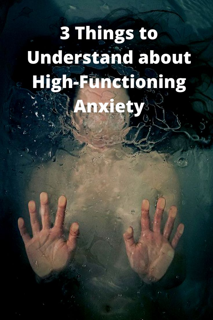 High-Functioning Anxiety Is More Complicated Than You Perceive - here's the key ways it manifests, and the one time we can do something about it and listen.