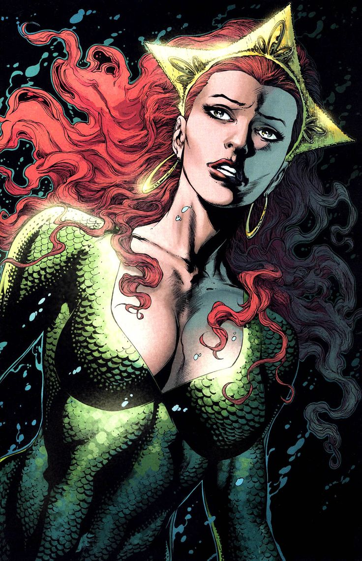 JUSTICE LEAGUE: Mera, Mera, On The Underwater Wall!