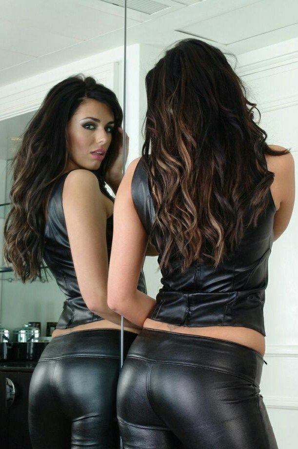 Pin by Latisa Smith on LEGGINGS R SEXY | Leather dresses ...