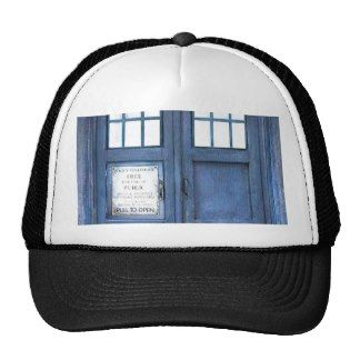 Funny Police Phone Call Box Trucker Hat