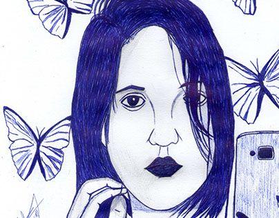 """Check out new work on my @Behance portfolio: """"My Muse Carol Dias"""" http://be.net/gallery/50443223/My-Muse-Carol-Dias"""