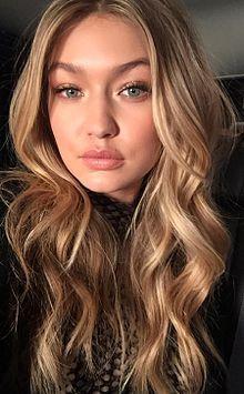 "Jelena Noura ""Gigi"" Hadid (1995) ♦ American fashion model and television personality."