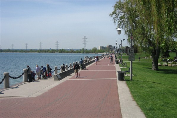 Our beautiful waterfront, in Burlington, Ontario