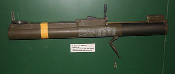 The M72 LAW in extended position