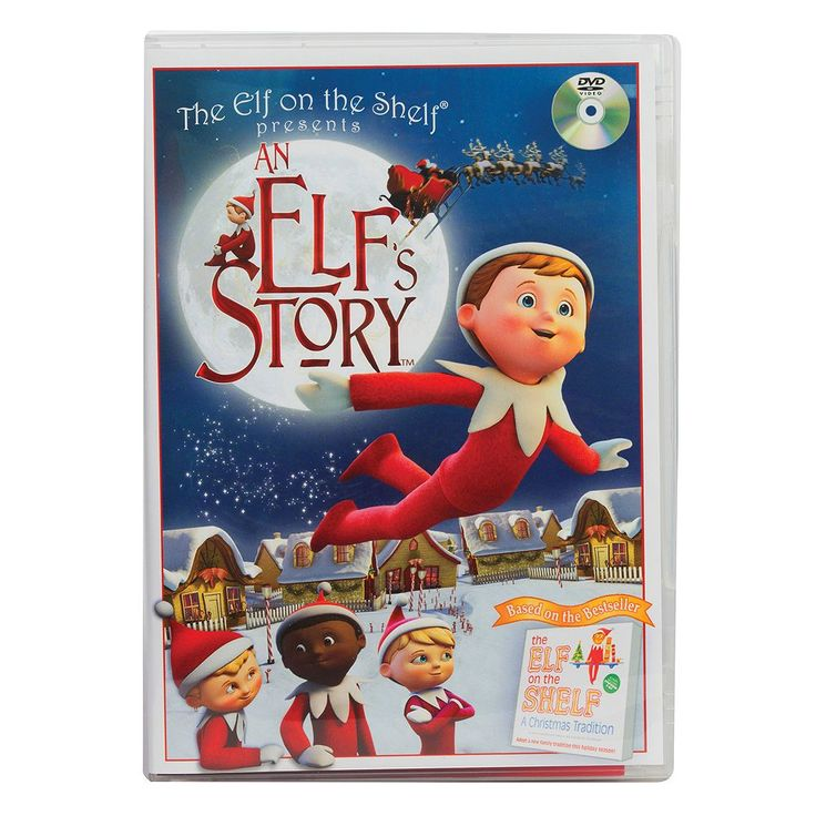 An Elf's Story™ DVD by The Elf on the Shelf®, Multicolor