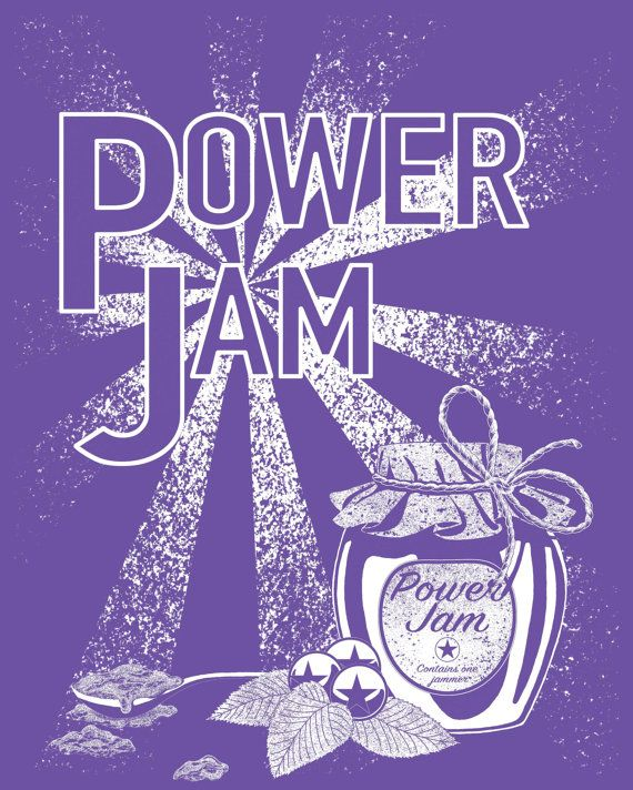 Need an extra boost while jamming? You need POWER JAM! Contains one jammer.  Really lovely soft 100% cotton t-shirt with a screen printed Power Jam design. These are unisex t-shirts, so come up a bit big if you are used to buying ladies sizes, but are slim fit and a nice length, so perfect for everyone :)  Size Chest (to fit): XS - 31-34 S - 34-37 M - 38-41 L - 42-45 XL - 46-49 XXL - 50-53   We have: S x 8 M x 3 L x 2 XL x 5 XXL x 2