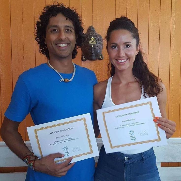 Yestetday me and my dear friend @shamiracle108 got our ambassador certificate from Alkaline water company @onewellbysweden  Working towards a cleaner and better water for everyone