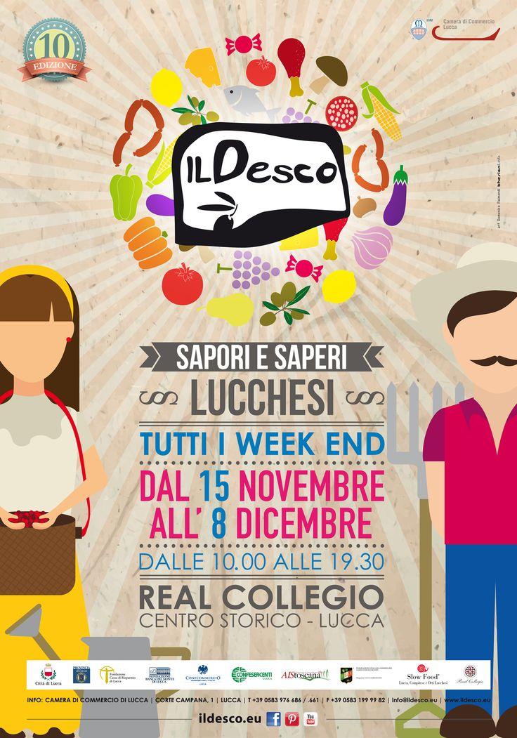 Il Desco 2014 Poster - art: Domenico Raimondi | @thesignlab