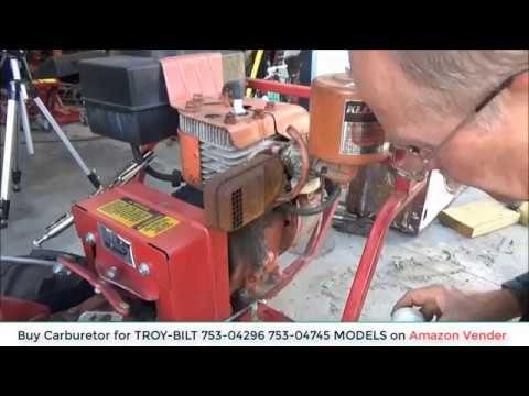 How to Clean a Troy-Bilt Tiller Carburetor | Amazon Vender | Lawn