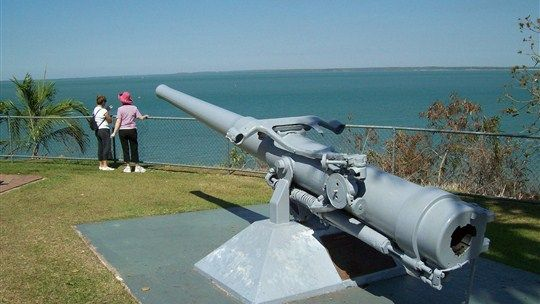 Learn about the important military role Darwin played for Australia during WWII at East Point Reserve. #NTAustralia