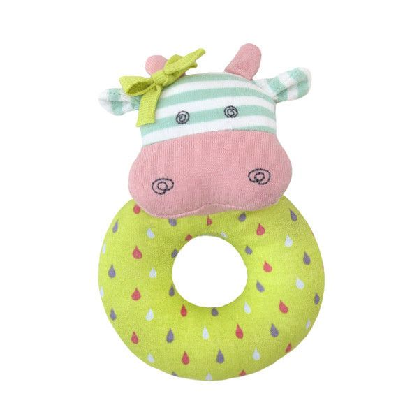 Rattle Belle the Cow - Baby Stuff by Apple Park – Sweet Giggles Organic Baby Boutique