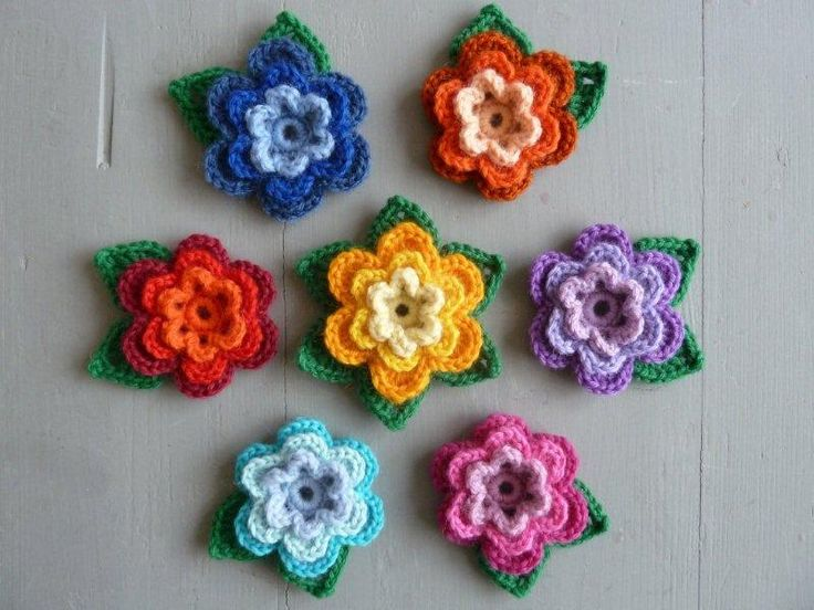 Klavertje Vier Haken Flowers T Crochet And Haken