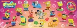 Spongebob Squarepants and his friends from Bikini Bottom are the next Happy Meal Toys.
