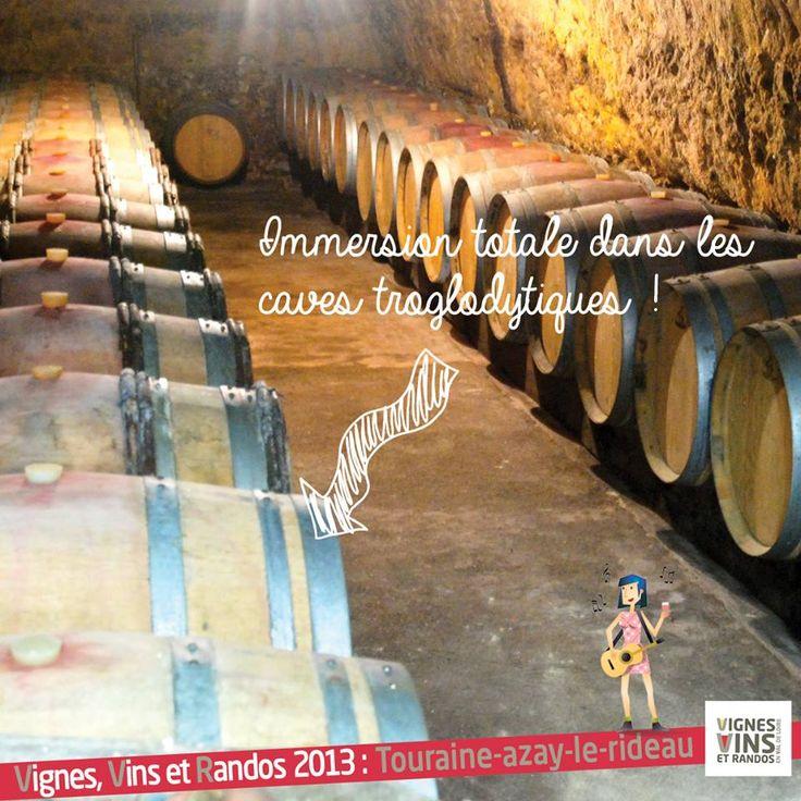 Dimanche 8 septembre, Vignes Vins et Randos à Cheillé