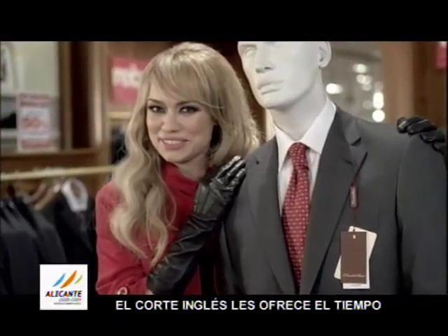 Clothing Vocabulary : Patricia Conde - Rebajas de El Corte Inglés by Ruben Artiles. Video con los anuncios que realizó Patricia Conde para la campaña de rebajas de El Corte Inglés.