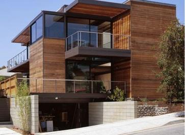 Ray Kappe House modern exterior