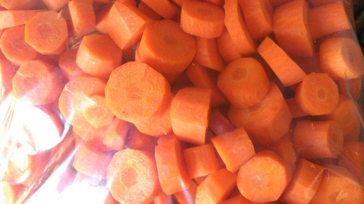 Carrot chunks