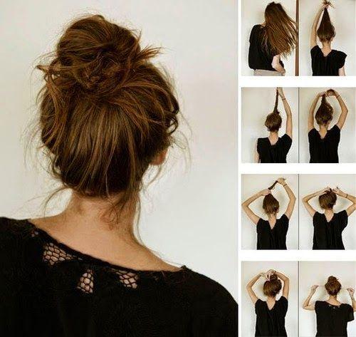 cabelo bagunçado