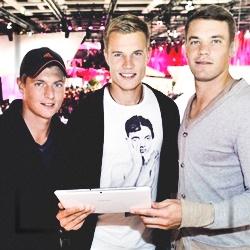 Holger Badstuber, Manuel Neuer, Toni Kroos