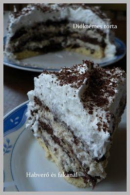 Habverő és fakanál: Diókrémes torta