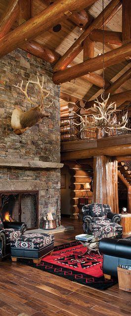 Log Home Decor