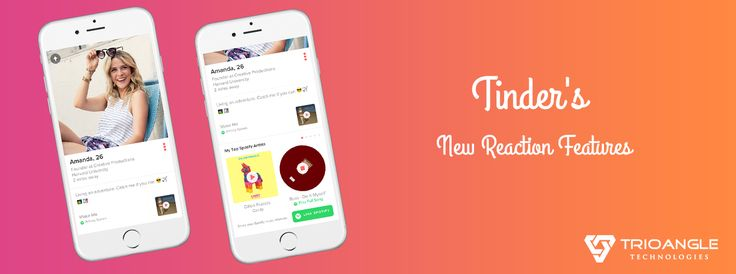 Tinder's new reaction feature is more easier and fun for woman to express how they really feel about the guy. This features will help woman to combat male bad behavior on dating apps. If you need to add this feature in your dating app, get in touch with us, https://www.trioangle.com/tinder-clone/ #trioangle #tinderclone #tinderclonescript #datingappclone #datingcloneapp #mobiledatingappscript #tindersreaction #tindernewfeature #ondemanddatingapp