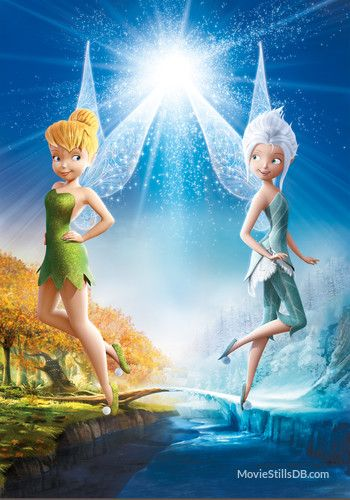 Tinkerbell & Periwinkle (The Secret of the Wings)..