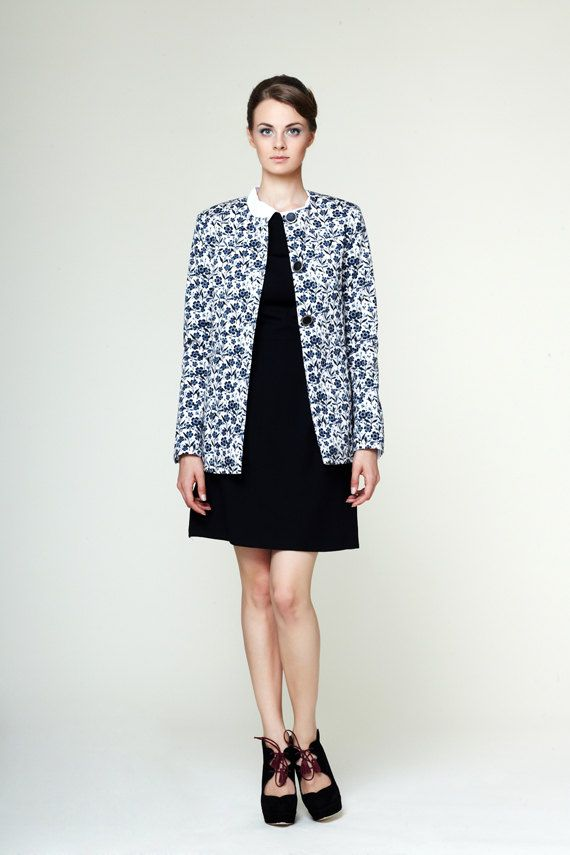 Hannah - cotton jacket made of Mrs Pomeranz fabric