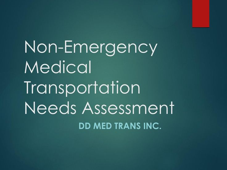92 best Non-Emergency Medical Transportation images on Pinterest - needs assessment