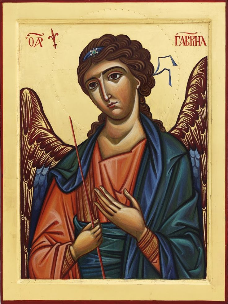Archangel Gabriel by Sandra Carassai