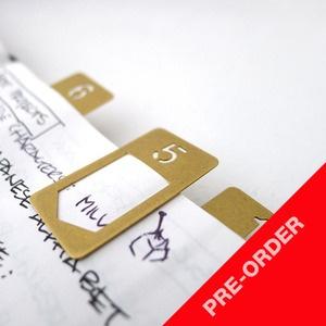 like it: Nifty Products, Good Ideas, Cv Portfolio Ideas, Brass Clip, Clip Number, Craft Ideas