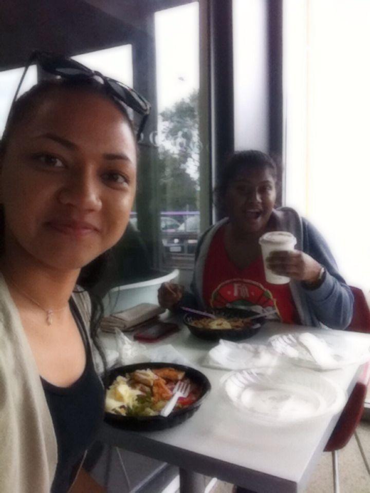 Lunch date #friendship #tongan #fijian