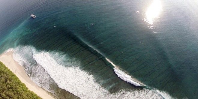 Incredible Drone Footage from the Mentawais | Indo Barrels
