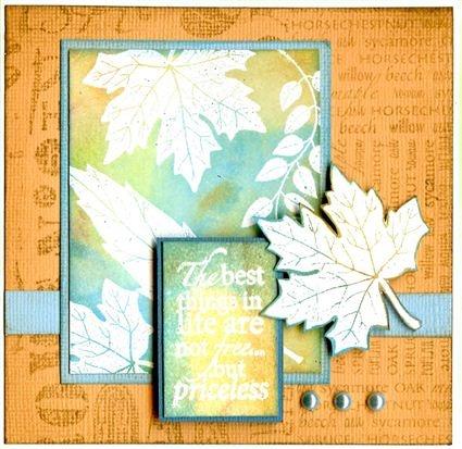Leaf Selection, leaf names, english leaves.