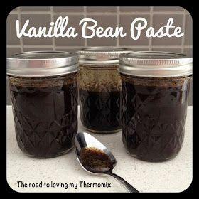 Thermomix: Vanilla Bean Paste