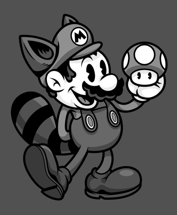 Vintage Plumber B by Harebrained