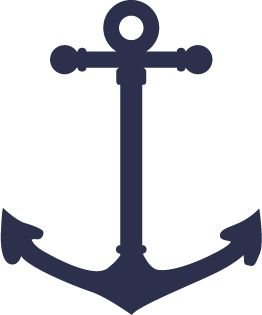 navy anchor tattoos - want one., i would make the tips more definatively hearts..........